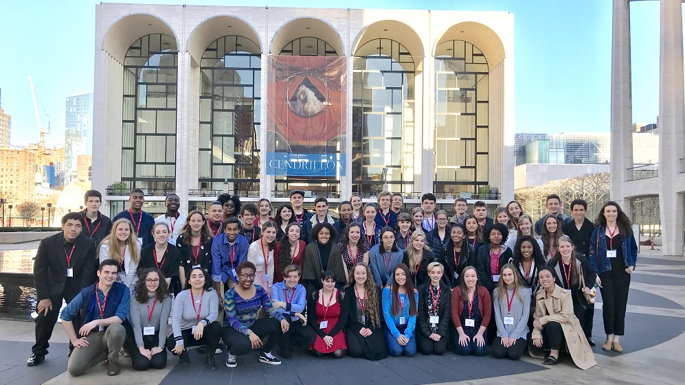 2018 National Shakespeare Competition competitors